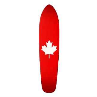 Canada Established 1867 Anniversary 150 Years Skateboard Deck