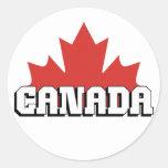 Canadá Etiqueta