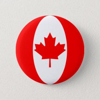 Canada Fisheye Flag Button