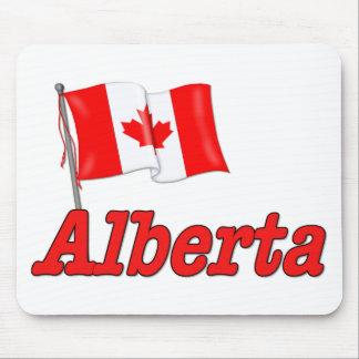 Canada Flag - Alberta Mouse Pad