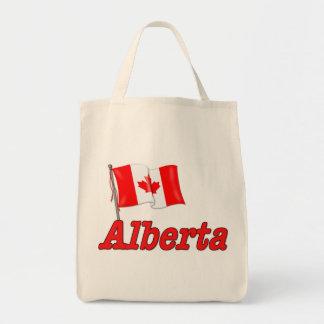 Canada Flag - Alberta Tote Bag