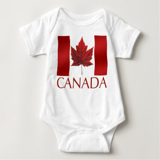 Canada Flag Baby Jumper Canada Baby One Piece T-shirts