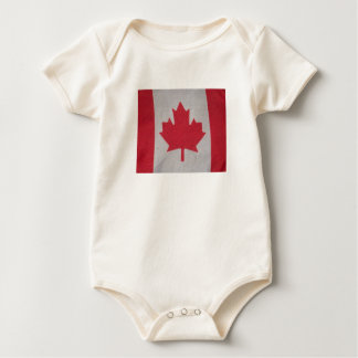 Canada flag baby sleeper baby creeper