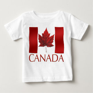 Canada Flag Baby  T-shirt Canada Baby T-shirt