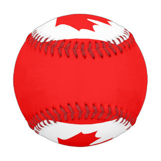 Canada Flag Baseball