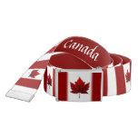 Canada Flag Belts Classic Canada Belts - Customize