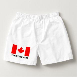 99742fe548 Men's Canadian Maple Leaf Underwear & Socks | Zazzle