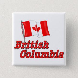 Canada Flag - British Columbia Button