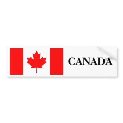 Canada Flag bumper sticker $ 4.20