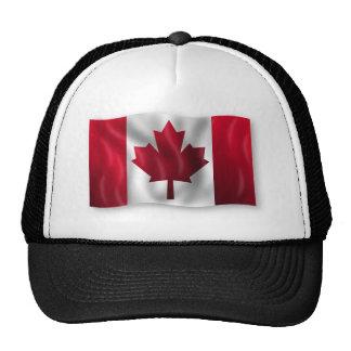 Canada Flag Canadian Country Emblem Leaf Maple Mesh Hat