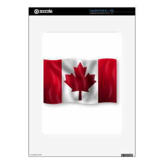 Canada Flag Canadian Country Emblem Leaf Maple iPad Decals