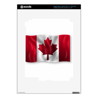 Canada Flag Canadian Country Emblem Leaf Maple Skin For iPad 3