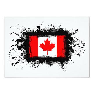 Canada Flag Card