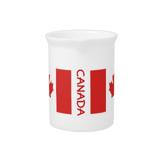Canada-Flag-classic Drink Pitcher