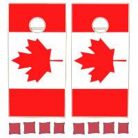 Canada Flag Cornhole Set