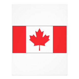 Canada Flag Full Color Flyer