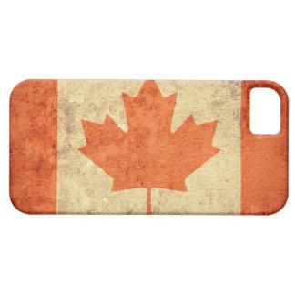 Canada Flag - Grunge iPhone SE/5/5s Case