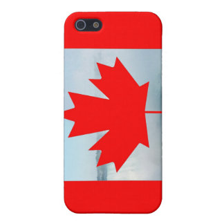 Canada flag, Happy Canada Day and Niagara Falls Cover For iPhone SE/5/5s