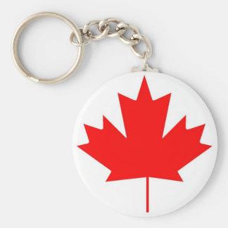 Canada flag, Happy Canada Day Basic Round Button Keychain