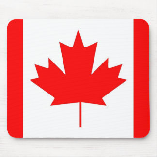 Canada flag, Happy Canada Day Mouse Pad