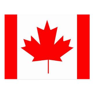 Canada flag, Happy Canada Day Postcard