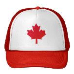 Canada flag hats