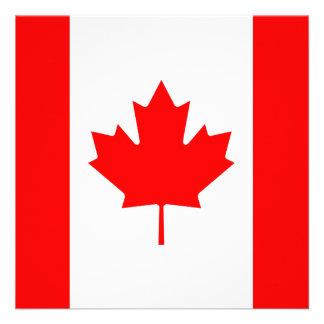 Canada Flag Invitation