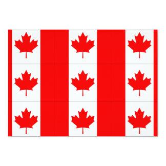 CANADA FLAG INVITATIONS