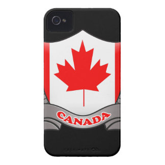 Canada Flag iPhone 4/4S Case-Mate Barely There