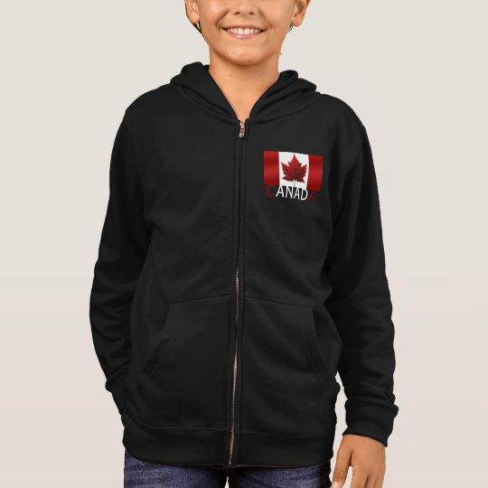 Canada Flag Kid's Hoodie Shirt Canada Souvenir Top