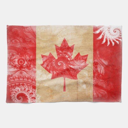 Canada Flag Kitchen Towel