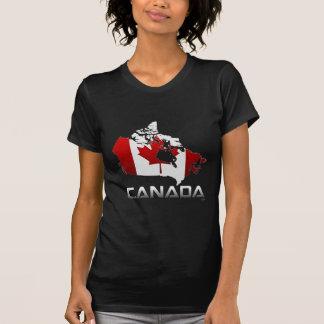 Canada: Flag & Map T-Shirt