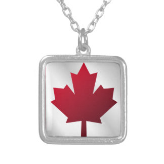 Canada Flag Maple Leaf Necklaces