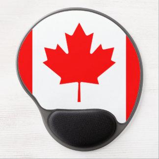 Canada Flag Maple Leaf O Canada Nation Symbol Icon Gel Mouse Pad