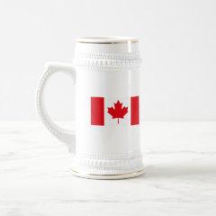 Canadian Flag Stein