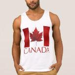 Canada Flag Muscle Shirt Canada Souvenir T-Shirt