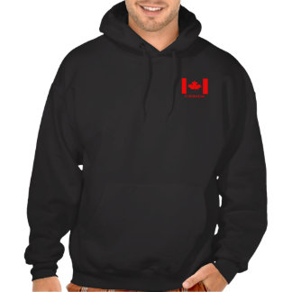 Canada flag, or make your own flag hoody