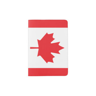 Canada Flag Passport Holder