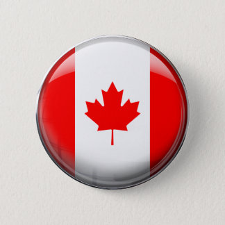 Canada Flag Pinback Button