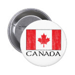 Canada Flag Pinback Buttons