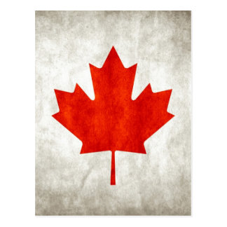 Canada Flag Postcard