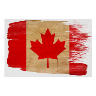 Canada Flag Posters