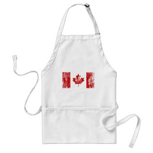Canada Flag Pride Adult Apron