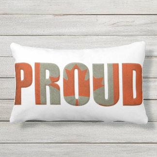 Canada Flag Pride Outdoor Patio Cushion Or Indoor