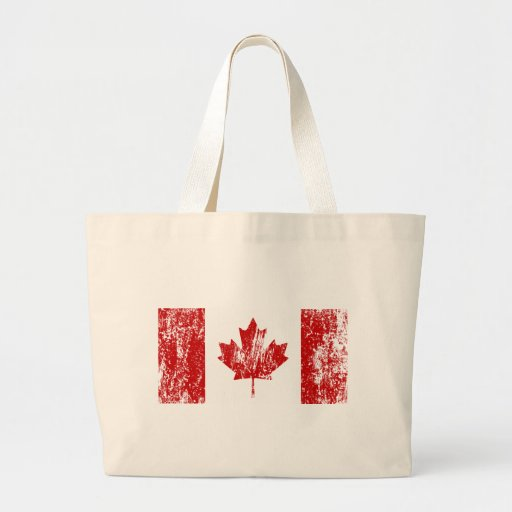 Canada Flag Pride Tote Bags