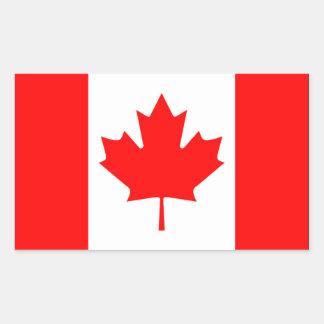 Canada Flag Rectangular Sticker