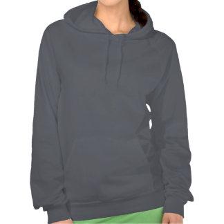 Canada Flag Sailing Crew Girly Nautical Argyle Hooded Sweatshirt