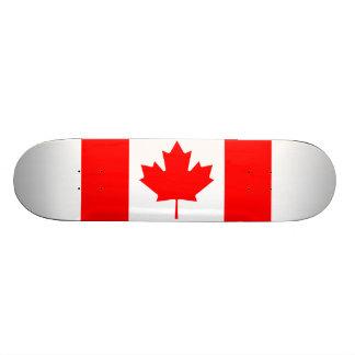 Canada Flag Skate Board