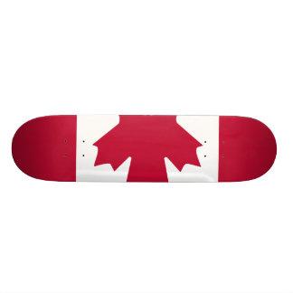 Canada Flag Skateboard