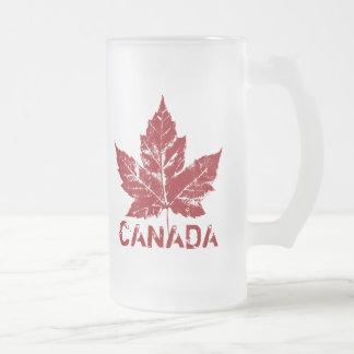 Canada Flag Souvenir Beer Glass Canada Mug